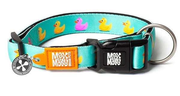 Max & Molly Smart ID obojek polostahovací, Ducklings, Velikost L - Obojek pro psy