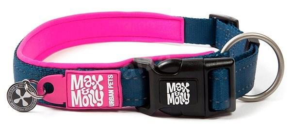Max & Molly Smart ID obojek polostahovací, Matrix Pink, Velikost XS - Obojek pro psy