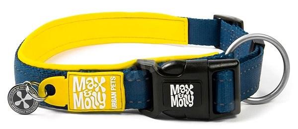 Max & Molly Smart ID obojek polostahovací, Matrix Yellow, Velikost S - Obojek pro psy