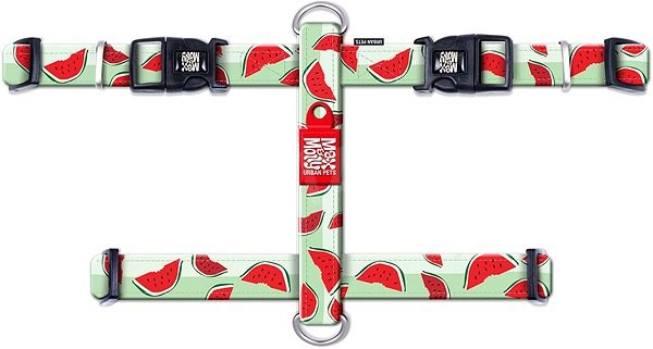 Max & Molly H Postroj, Watermelon, Velikost S - Postroj pro psa