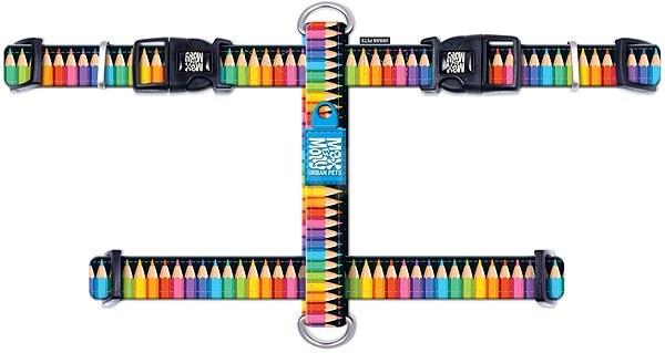 Max & Molly H Postroj, Crayons, Velikost S - Postroj pro psa