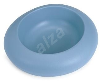 IMAC Designová miska pro psa plastová 1000 ml - modrá - D 27,5 × Š 23,5 × V 7,5 cm - Miska pro psy
