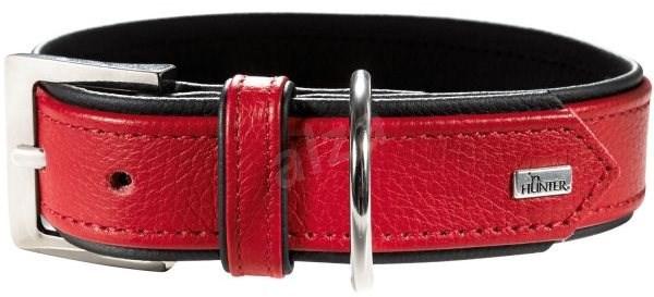 Hunter obojek Capri, červený 24 - 30 cm - Obojek pro psy