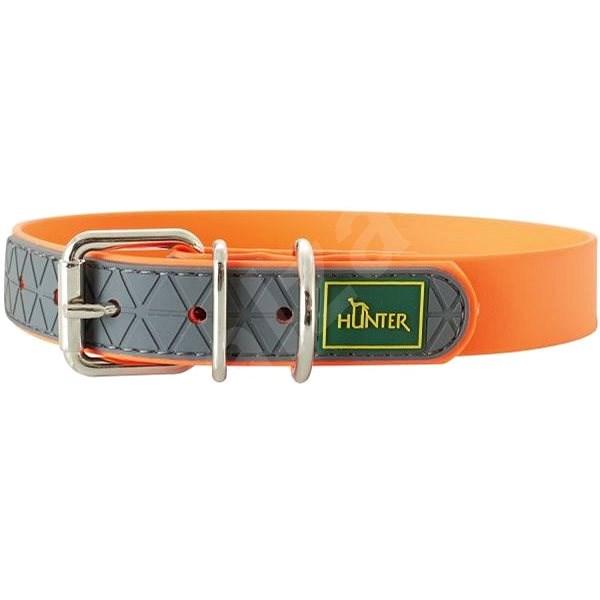 Hunter obojek Convenience, oranžový 23 - 31 cm - Obojek pro psy