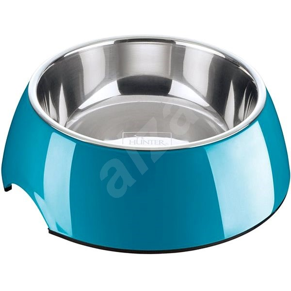 Hunter Colore Bowl, Blue 700ml - Dog Bowl