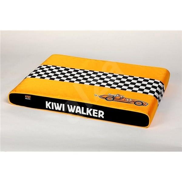Kiwi Walker Racing Cigar ortopedická matrace velikost L, oranžová - Matrace pro psy