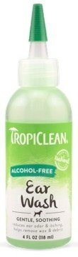 Tropiclean Ear Cleansing Drops (Without Alcohol) 118ml - Ear Product