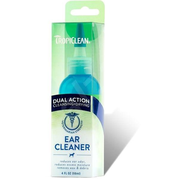 Tropiclean Ear Cleansing Drops - Double Effect 118 ml - Ear Product