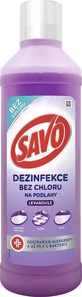 SAVO Bez Chloru Levandule 1 l - Čisticí prostředek