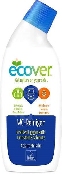 ECOVER WC čistič s vůní oceánu 750 ml - Eko wc gel