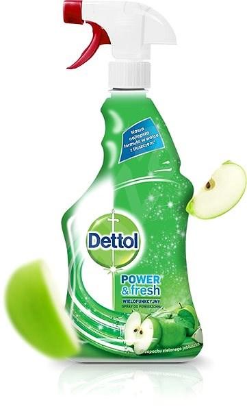 DETTOL Antibakteriální sprej na povrchy Zelené jablko 500 ml - Čisticí prostředek