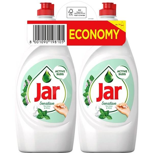 JAR Sensitive Tea Tree & Mint 2x 900ml - Prostředek na nádobí