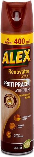 ALEX renov.nábytku proti prachu-aerosol 400 ml - Čisticí prostředek