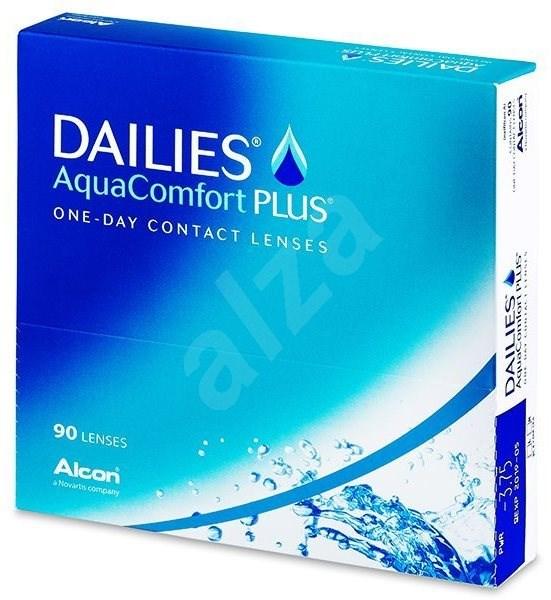 Dailies AquaComfort Plus (90 čoček) dioptrie: +3.50, zakřivení: 8.70 - Kontaktní čočky