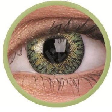 ColourVUE dioptrické TruBlends (10 čoček), barva: Green, dioptrie: -3.00 - Kontaktní čočky