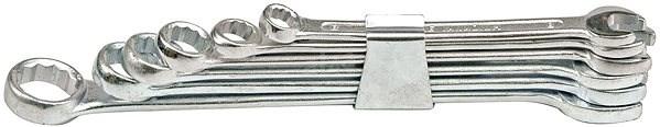Vorel Sada klíčů očkoplochých 6 ks 8 - 17 mm spona - Klíč