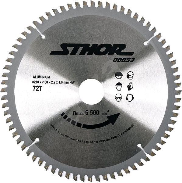 Sthor Aluminium Disc 210 x 30mm 72z - Cutting Disc