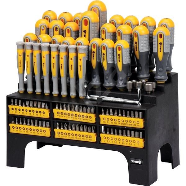 Vorel Screwdriver Set 100 pcs - Screwdriver Set