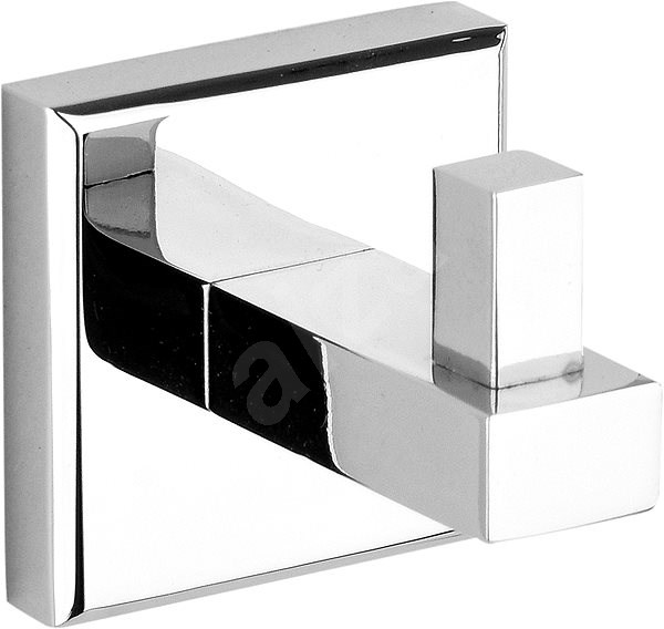 Quad Chrome Bathrobe Hook - Bathroom hook