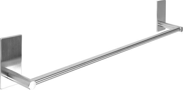 Držák ručníku 55 cm nalepovací 3M Steely - Držák na ručníky