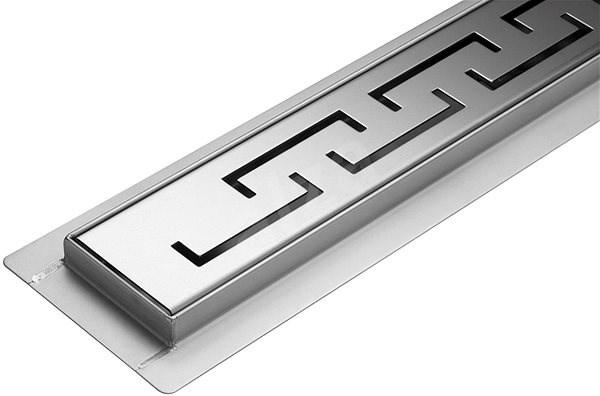 Lineární koupelnový žlab OLIMP 80 cm WET&DRY - Sprchový žlab