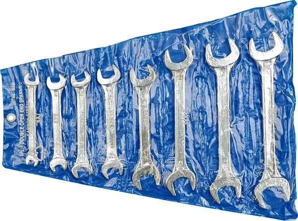 Vorel Sada klíčů plochých 8 ks 6 - 22 mm - Klíč