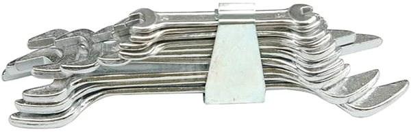 Vorel Sada klíčů plochých 8 ks 6 - 22 mm spona - Klíč