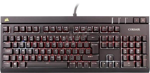 Corsair Gaming STRAFE RGB Cherry MX Silent (CZ) - Herní klávesnice