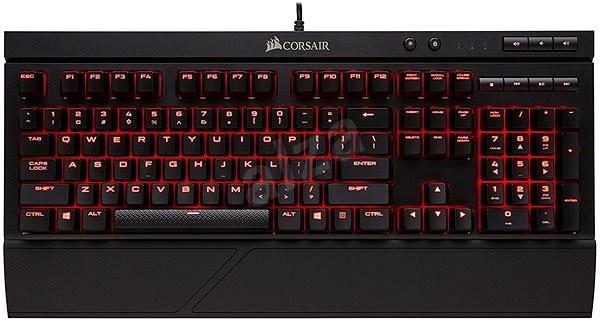 Corsair K68 Red LED US - Herní klávesnice