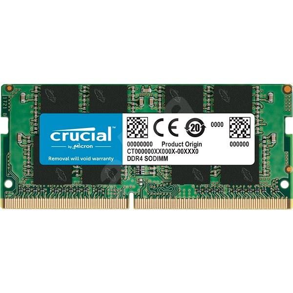 Crucial SO-DIMM 8GB DDR4 2400MHz CL17 Single Ranked x8 - Operační paměť