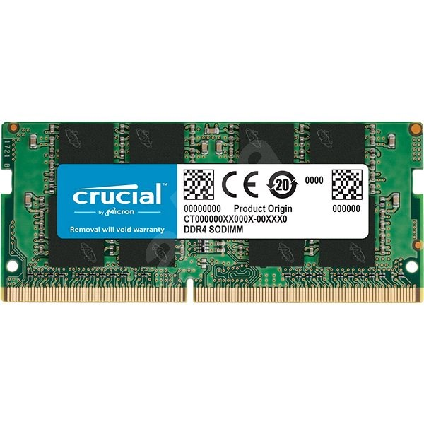 Crucial SO-DIMM 8GB DDR4 2666MHz CL19 Single Ranked - Operační paměť