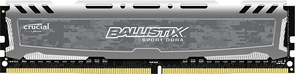 Crucial 8GB DDR4 2400MHz CL16 Ballistix Sport LT Dual Ranked - Operační paměť