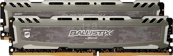 Crucial 16GB KIT DDR4 2400MHz CL16 Ballistix Sport LT Dual Ranked - Operační paměť