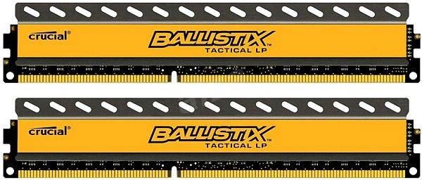 Crucial 8GB KIT DDR3 1600MHz CL8 Ballistix Tactical LP - Operační paměť