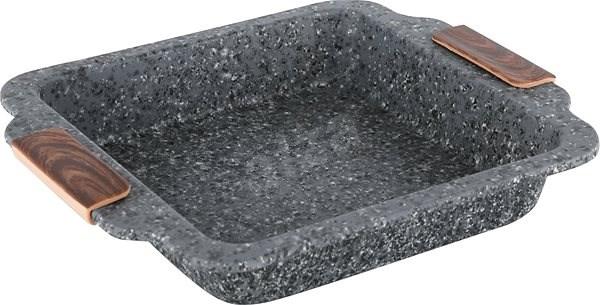 CS Solingen Plech hluboký s mramorovým povrchem STEINFURT 27x23cm - Pečící plech