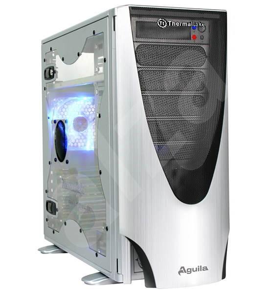 Thermaltake Aguila VD1000SWA stříbrná průhledná bočnice - Počítačová skříň