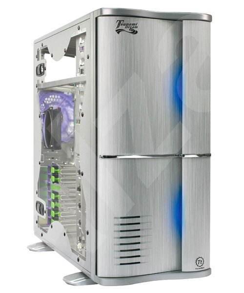 Thermaltake Tsunami VA3000 SWA - stříbrný - Počítačová skříň