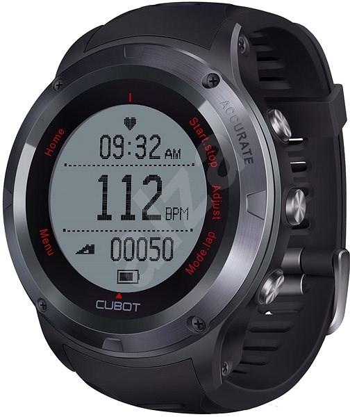 CUBOT F1 Black - Chytré hodinky  891fa993a4