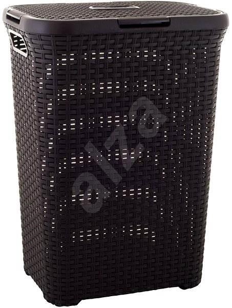 Curver Rattan 60l 00707-210 - Koš na prádlo