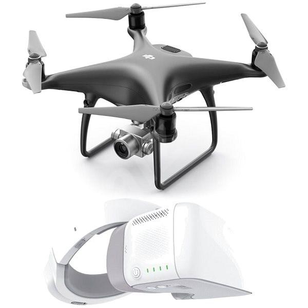 DJI Phantom 4 Pro+ Obsidian Edition + DJI Goggles - Dron