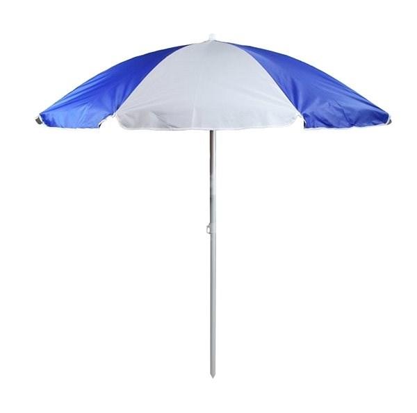 Slunečník modro-bílý 180 cm - Slunečník