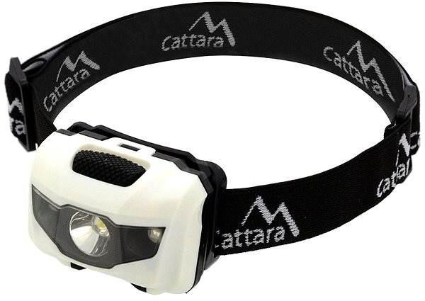 Cattara Headtorch LED 80lm Black and White - Headlamp