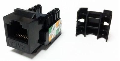 Datacom  RJ45 UTP CAT6 (DUAL) MINI černý - Keystone