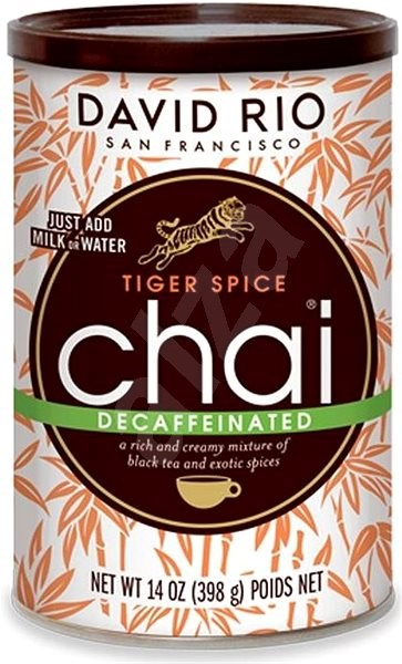 David Rio Chai Tiger Spice Decaff BEZ KOFEINU 398 g - Nápoj