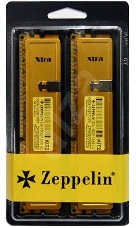 ZEPPELIN 4GB KIT DDR3 1333MHz CL9 GOLD - Operační paměť