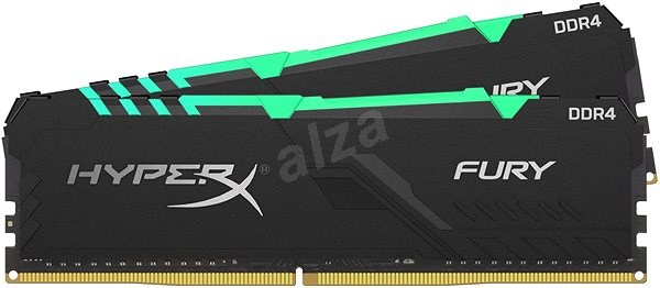 HyperX 32GB KIT DDR4 2400MHz CL15 RGB FURY series  - Operační paměť