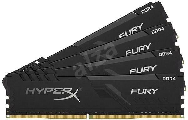 HyperX 32GB KIT DDR4 2666MHz CL16 FURY series - Operační paměť
