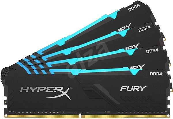 HyperX 64GB KIT DDR4 2400MHz CL15 RGB FURY series - Operační paměť