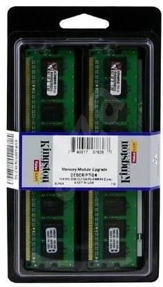 Kingston 4GB KIT DDR2 667MHz ECC NON-registered CL5 - Operační paměť
