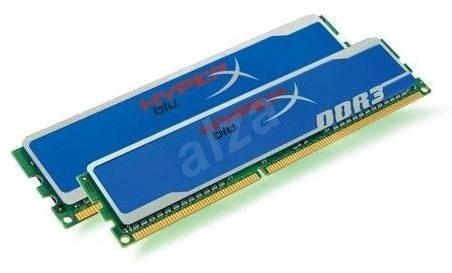 Kingston 4GB KIT DDR3 1600MHz CL9 HyperX blu Edition - Operační paměť
